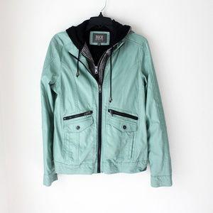 ✨NWOT BKE Mint Leather Jacket✨